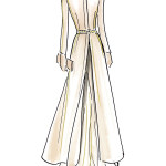 Beatrice Borromeo Sketch Dress