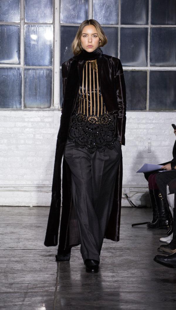 Brandon Sun Fall/Winter 2014 runway show