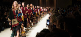 London Fashion Week: The Bloomsbury Girls for Burberry