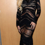 Beyoncé chose to wear a Roberto Cavalli evening dress