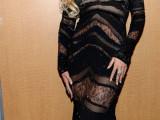 Beyoncé chose to wear a Roberto Cavalli evening dress