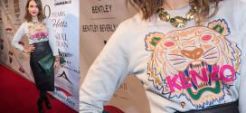 Jessica Alba wearing a KENZO Tiger Sweater
