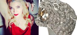 Madonna loves Carrera y Carrera Tiger Ring