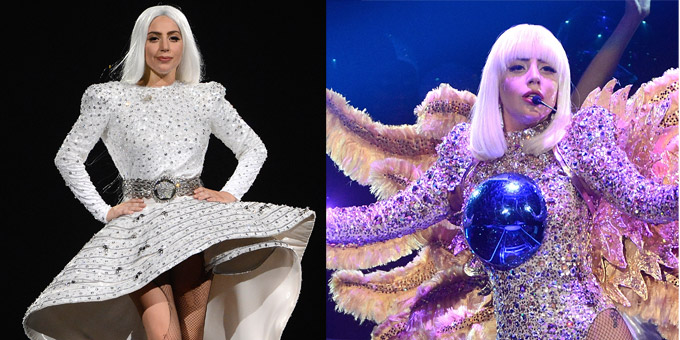 Lady Gaga chooses Versace
