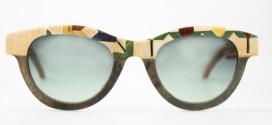 Catuma glasses made of wood and stone