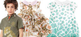 Roberto Cavalli spring/summer 2015 collection for children