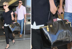 Reese Witherspoon carries 'Verve' Ferragamo handbag in Los Angeles