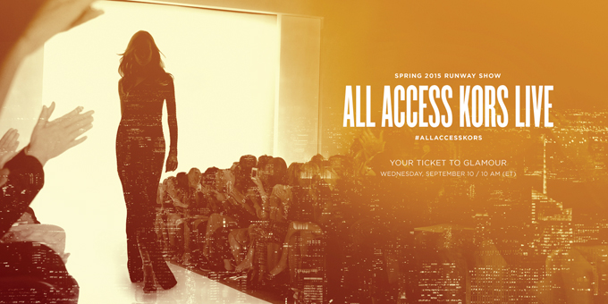 Michael Kors Expands 'All Access'