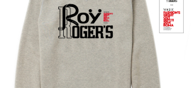 Roy Roger's Limited Edition: Sweatshirt and the Eco Jeans Project