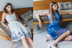 A light, airy and feminine collection for PITCHOUGUINA