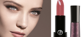 'Fade to Grey' : Fall collection make-up look by Giorgio Armani
