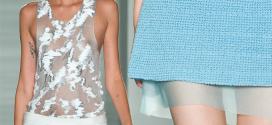 Pringle of Scotland launches the Spring/Summer 2015 Womenswear collection
