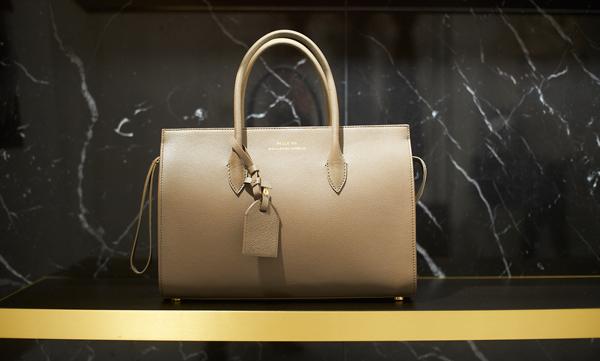 The iconic PAULE KA TRAPEZE bag i