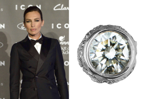 Nieves Álvarez is spectacular in Carrera y Carrera jewels