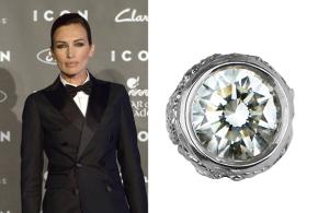 Nieves Álvarez is spectacular in Carrera y Carrera jewels