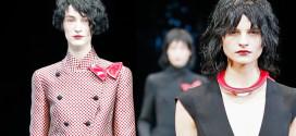 Crossing Colours: Emporio Armani Womenswear fw 2015/16