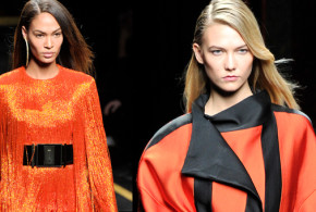 For Fall/Winter 2015/16, Balmain celebrate that Parisian tradition