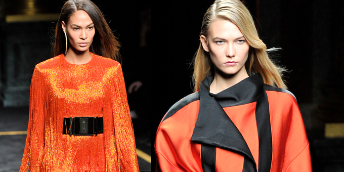 For Fall/Winter 2015/16, Balmain celebrate that Parisian traditio