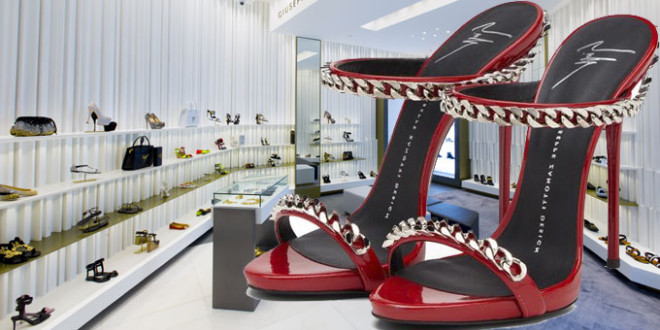 Giuseppe Zanotti Design opens first boutique in Manila