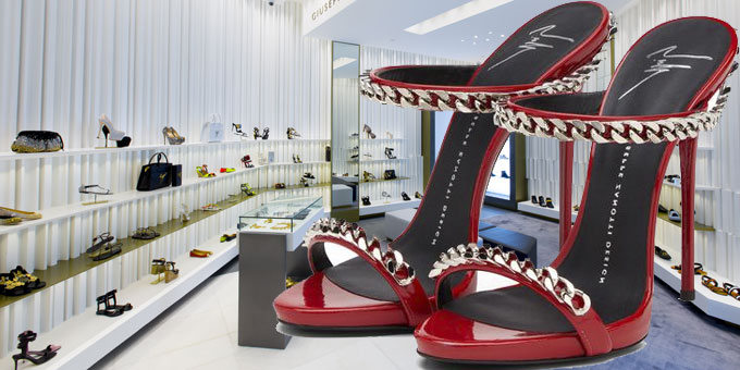 Giuseppe Zanotti Design opens first boutique in Manila