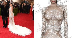 Kim Kardashian & Kanye West in Roberto Cavalli by Peter Dundas