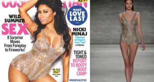 Nicki Minaj Wearing Designer Idan Cohen FW15