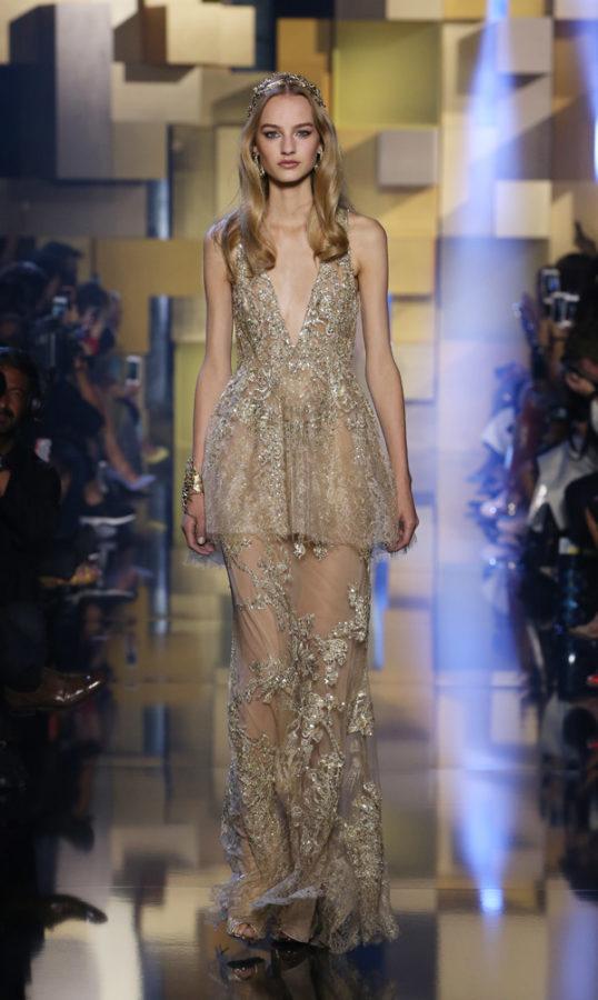 Elie saab haute couture autumn winter 2015 2016 show for Haute couture photoshoot