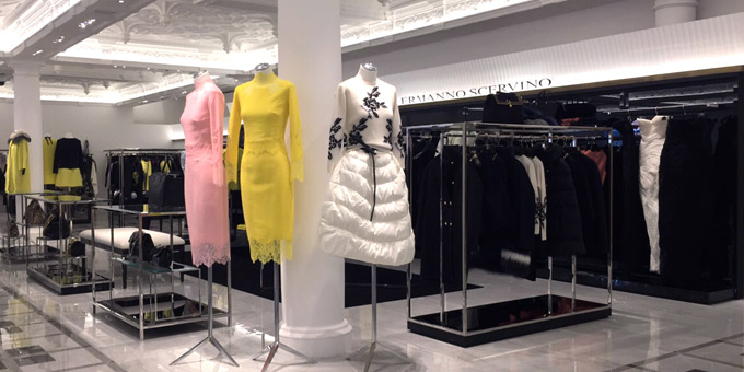 Ermanno Scervino opens its first store at Harrods Knightsbridge