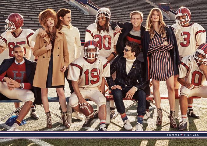 Tommy Hilfiger - f/w 2015/16 adv campaign