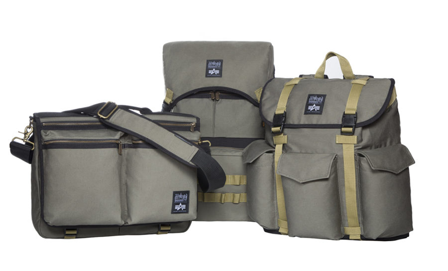 Military-inspired Capsule Bag Collection