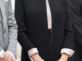 Giorgio Armani dresses Beatrice Borromeo for the National Day of Monaco