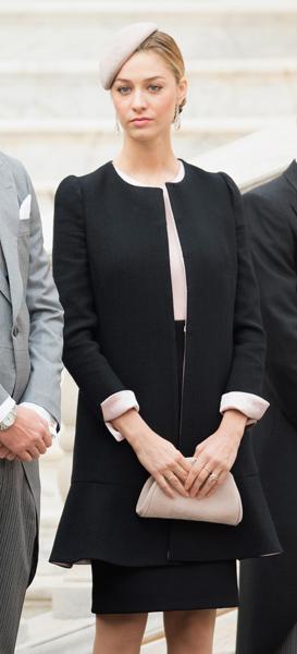 Giorgio Armani dresses Beatrice Borromeo