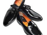 Santoni: the Black Tie shoes