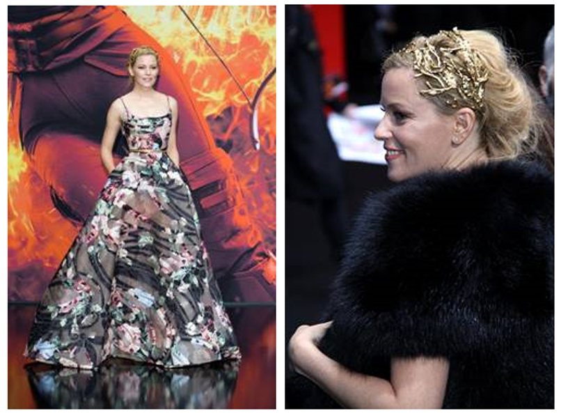 Elie Saab dresses Elizabeth Banks