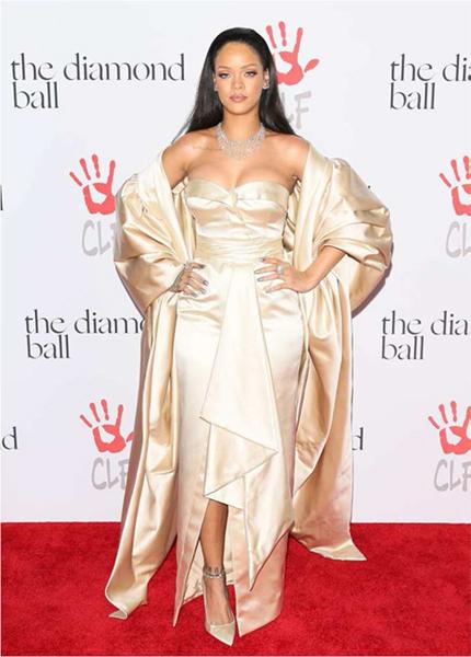 Rihanna wore Dior