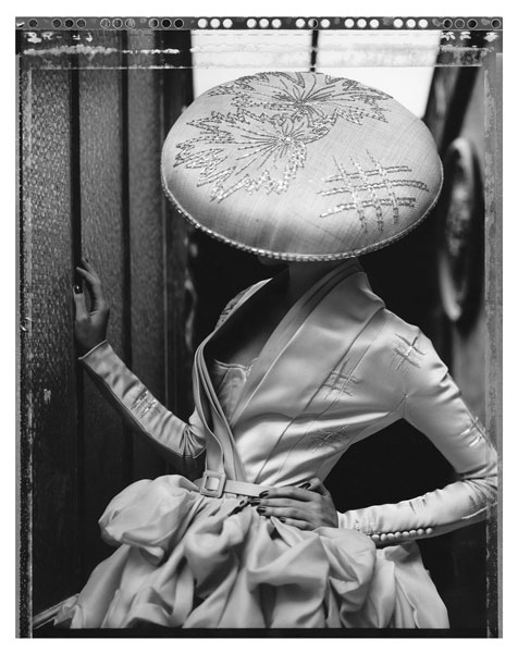 HAUTE COUTURE POLAROIDS BY CATHLEEN NAUNDORF // EDWYNN HOUK GALLERY NEW YORK