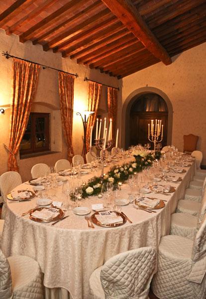 Villa Artimino - dinner Gala
