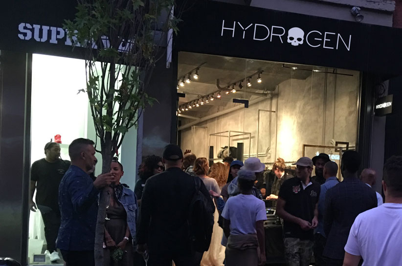 Hydrogen icon store New York