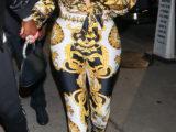 Khloe Kardashian in Versace