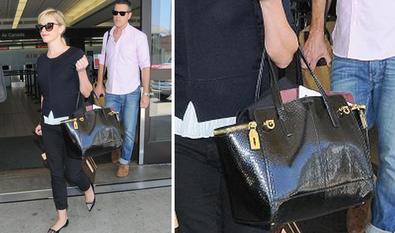 "Reese Witherspoon carries ""Verve"" handbag"
