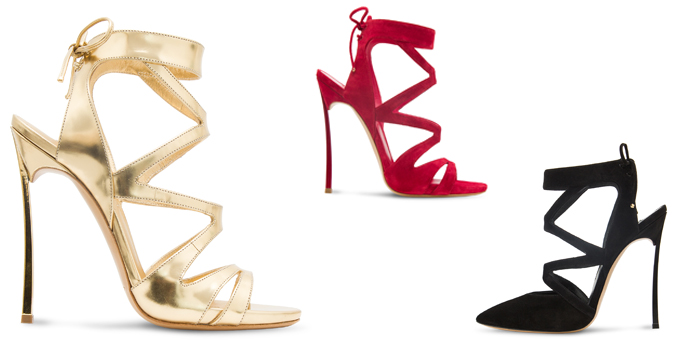 Casadei: ini Blade Capsule collection