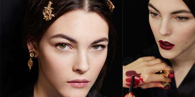 BACKSTAGE at Dolce&Gabbana