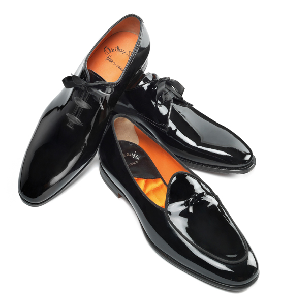 Santoni-Black Tie shoes