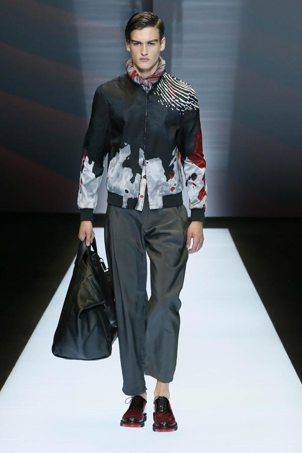 Emporio Armani Menswear SS2017
