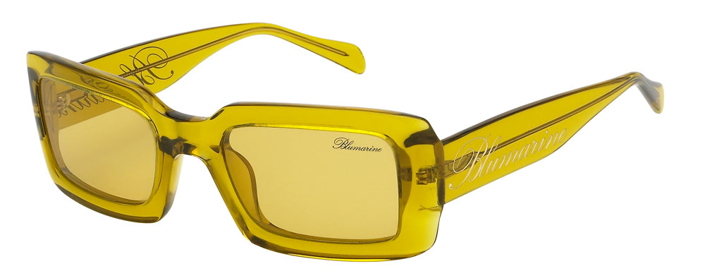Acetate style with square-shaped front piece