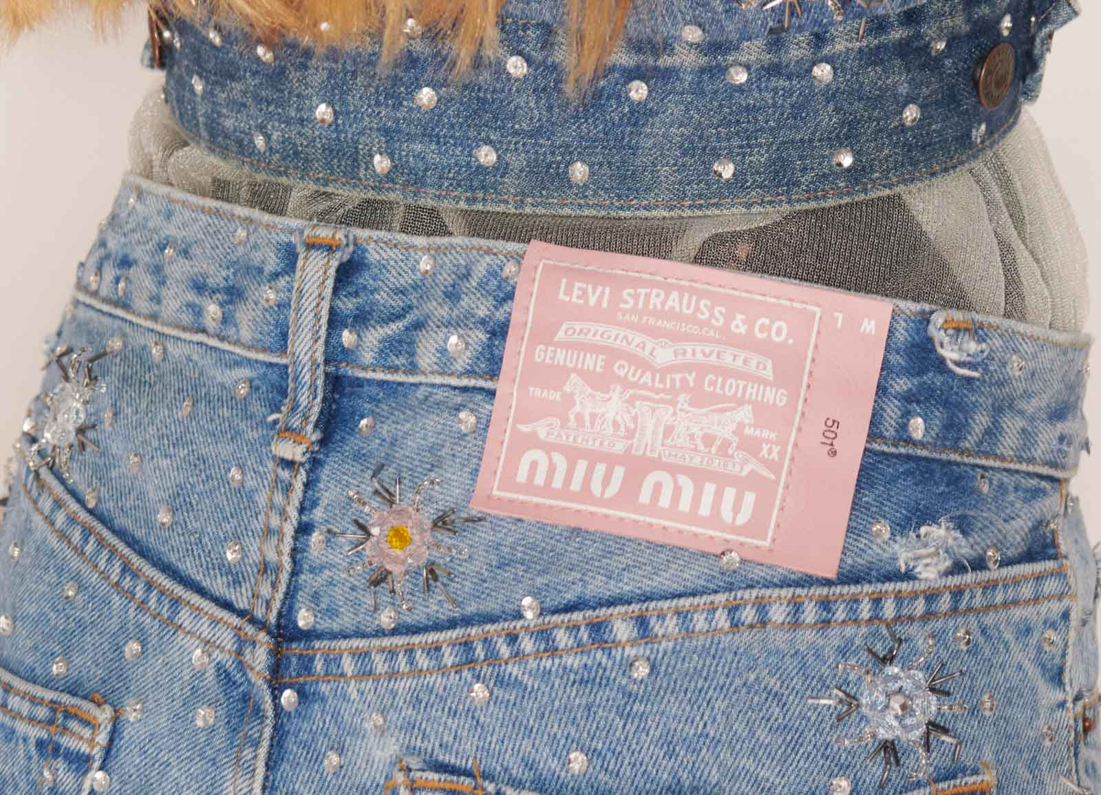 Upcycled by Miu Miu with Levi's