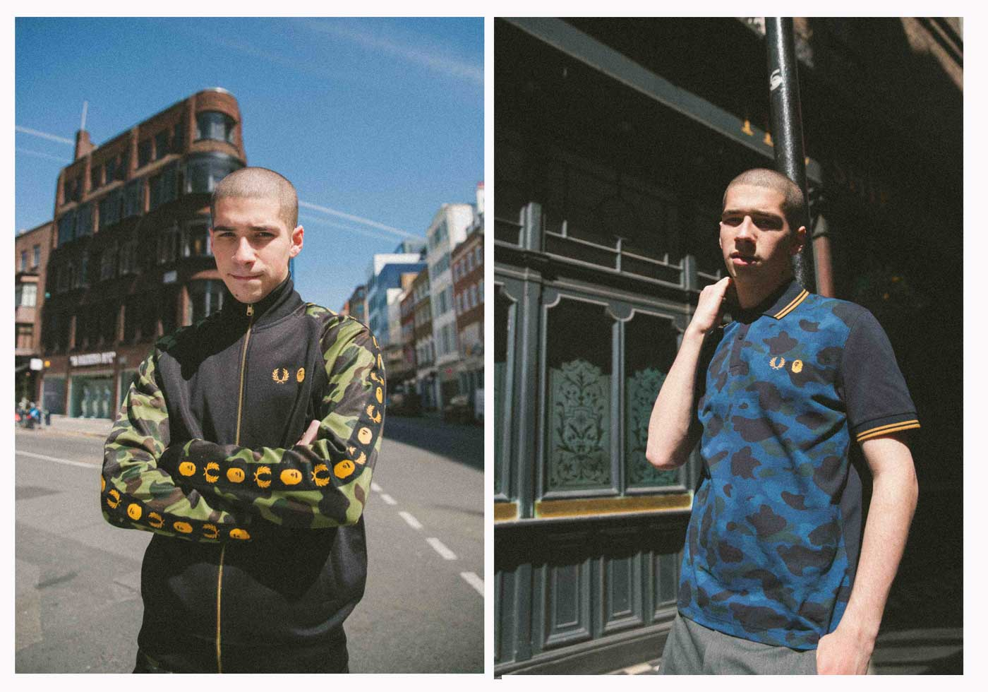 Fred Perry x A Bathing Ape®
